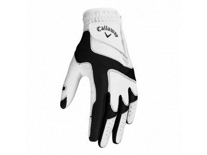 Callaway OPTI FIT pánská golfová rukavice bílo černá