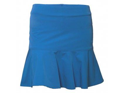 Tony Trevis dámská sukně s volány modrá