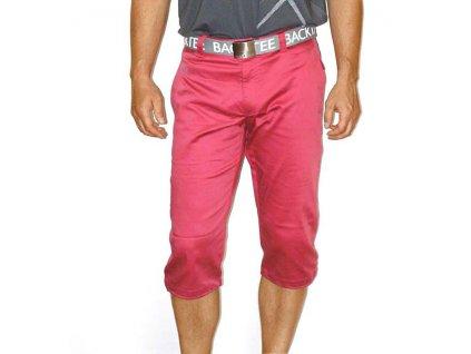 BackTee  3/4 pánské golfové kalhoty - jahodové
