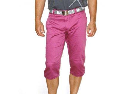 BackTee 3/4 pánské golfové kalhoty fialové