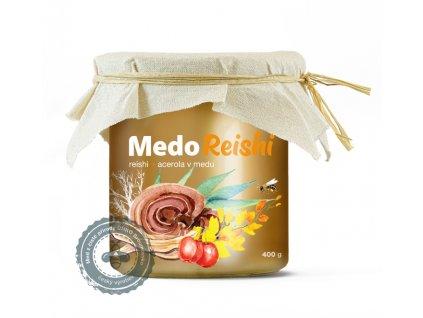 MedoReishi - reishi a acerola v medu 400g