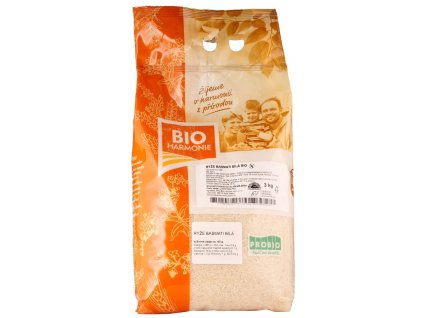 BIO rýže basmati bílá 3kg