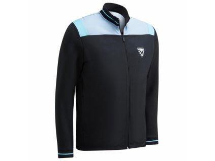 Callaway Color Block pánská golfová bunda na zip černá