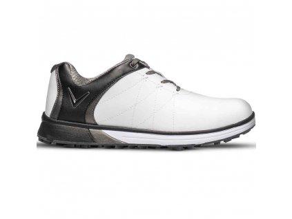 Callaway Halo PRO dámské golfové boty bílo černé spikeless