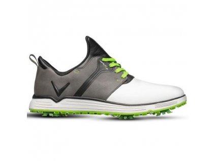 Callaway Apex Lites pánské golfové boty bílo šedé