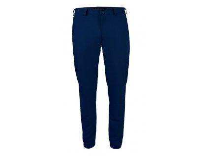Tony Trevis pánské goflové kalhoty SlimFittmavě modré