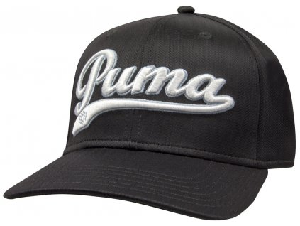 Puma pánská golfová čepice Script city černá