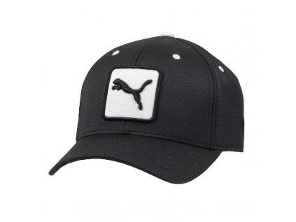Puma pánská golfová čepice Patch Relax Fit černá