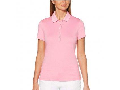 Callaway dívčí golfové tričko Micro HEX Solid růžové