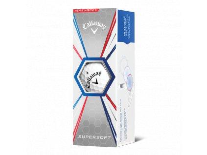Callaway Supersoft golfové míče bílé 3 ks