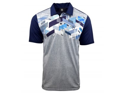 Tony Trevis pánské golfové tričko variace modré