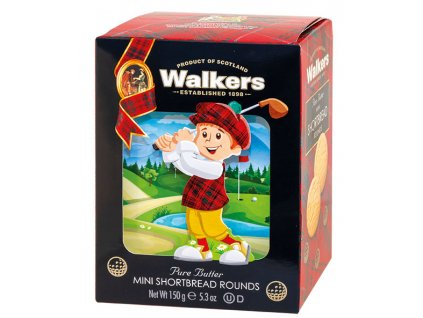 Walkers máslové slušenky Golfista 150g