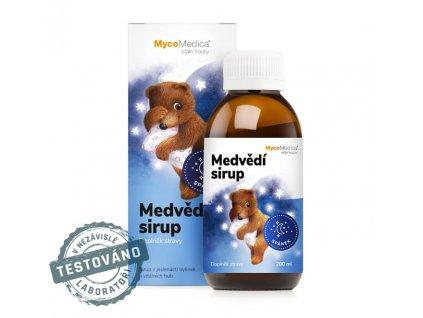 Mycomedica - Medvědí sirup 200ml