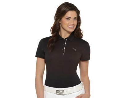 Pumá dámské golfové tričko černé