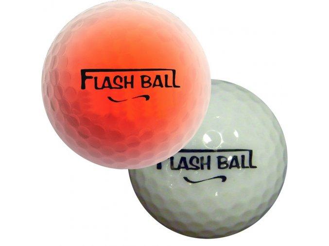 Flash Ball svítící blikací golfové míčky 2ks