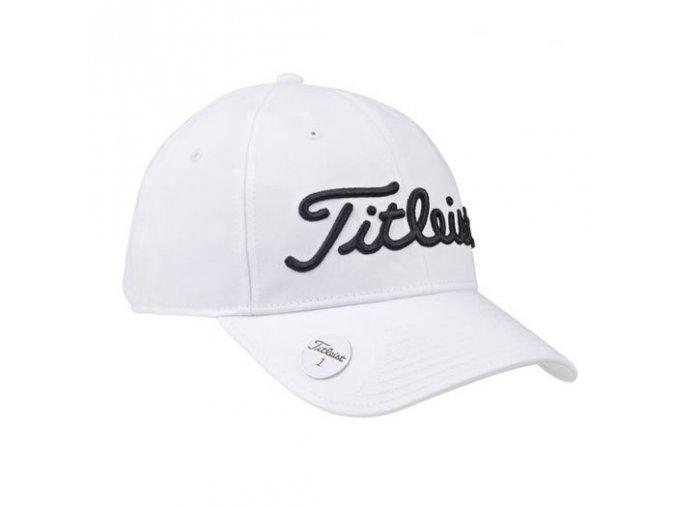Titleist Ball Marker pánská golfová čepice bílá