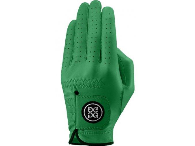 Dolce Gabana luxusní dámská kožená golfová rukavice zelená LEVÁ L