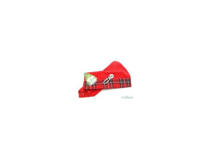 Dárková vánoční sada - ručník, vypichovátko s markovátkem