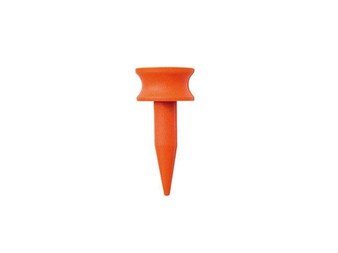 Plastová týčka - výška natýčkování 5mm, oranžová