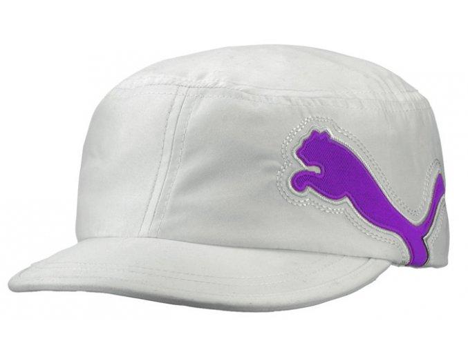 Puma dámská military golfová čepice bílá
