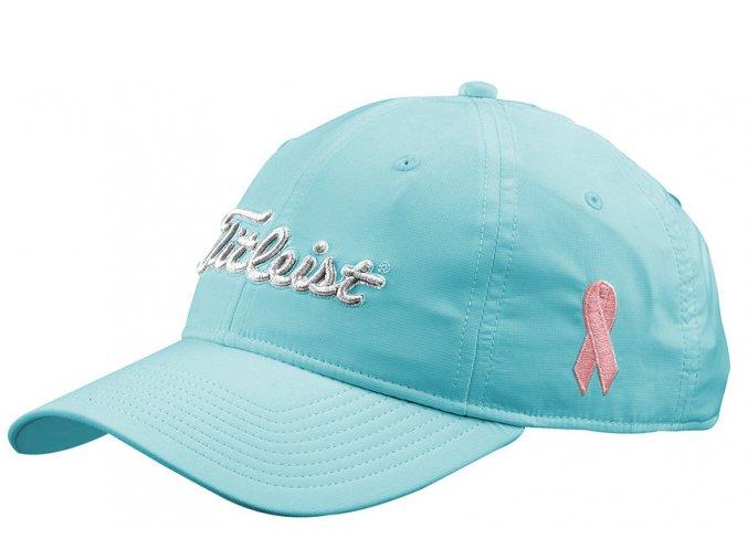 Titleist Pink Ribbon cap golfová čepice modrá