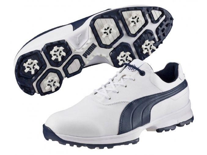 Puma Golf Ace pánské golfové boty bílo tmavěmodré