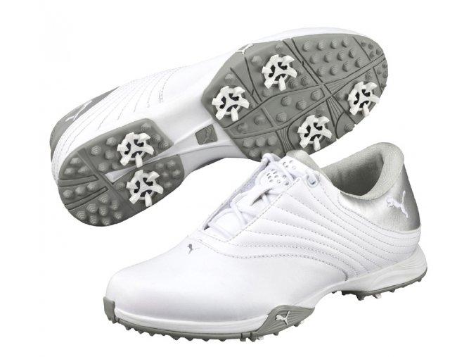 Puma Blaze dámské golfové boty bílo stříbrné