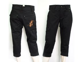 BackTee dámské fashion capri černé