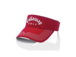 Callaway PRO STITCH Visor - red