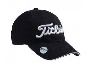 Titleist Ball Marker pánská golfová čepice černá