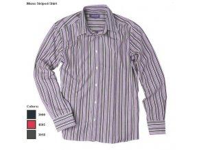 Mens Striped Shirt lila2