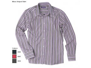 Mens Striped Shirt lila2