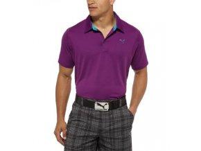 Puma Sport Lifestyle pánské golfové tričko fialové