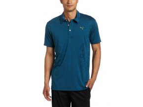 GEOMETRIC JACQUARD TECH POLO legion blue1