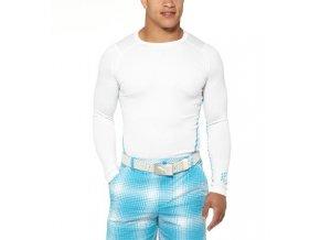 Puma Base Layer pánské funkční tričko bílé