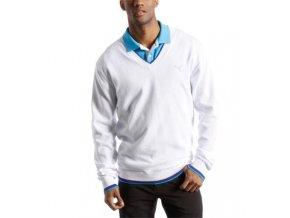 Puma pánský golfový svetr bílý XXL