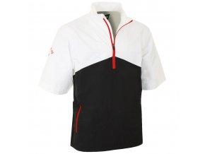Pánská golfová bunda do deště Callaway 1/4 Zip bílo/šedá