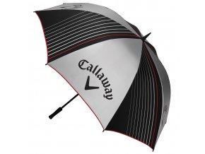 """Callaway golfový deštník s UV 64"""" šedý"""