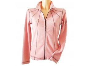 BackTee dámská golfová fleecová bunda -  růžová