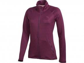 Puma Full Zip Jacket - dámská golfová bunda - fialová