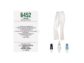 SUNICE dámské nepromokavé kalhoty bílé