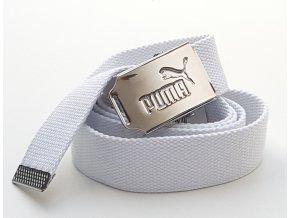Puma hadrový pásek unisex bílý