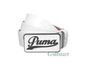 Golfový pásek Puma Script fitted  bílý