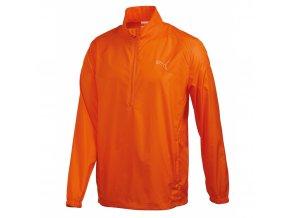 Puma juniorská bunda do větru oranžová