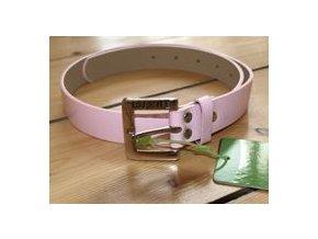 Dámský kožený pásek BackTee -  pink