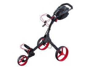 Golfový vozík BIG MAX IQ+ černo červený