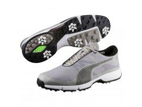 puma ignite drive sport golf shoes drizzle black white