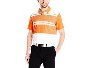 Puma junior Patternblock golfové tričko