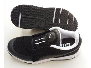 Puma Grip Sport DISC juniorské golfové boty černé