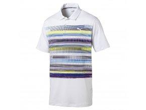 Puma Pixel juniorské golfové tričko